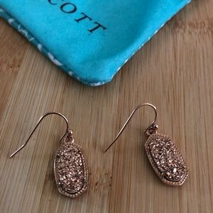 Kendra Scott Lee Gold Drusy Earrings